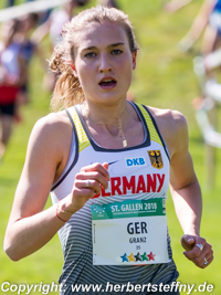 Caterina Granz Cross Stdenten WM St. Gallen